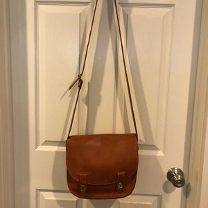 Fossil Leather Messenger Style Bag